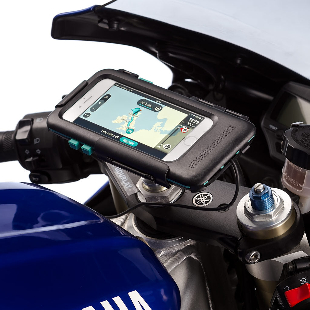 iPhone SE 2 Motorcycle Sportsbike Satnav Tough Waterproof Case Mounting Kit - Ultimateaddons