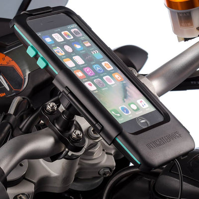 Apple iPhone SE 2 Waterproof Tough Motorcycle Handlebar Mounting Kit - Ultimateaddons