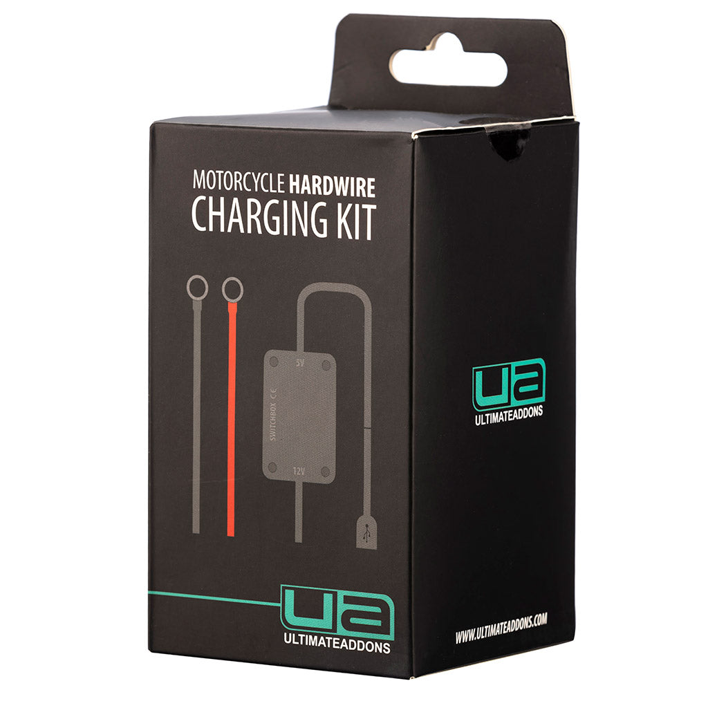 Ultimateaddons 2 Amp Waterproof Motorcycle Scooter Hard Wire Charger