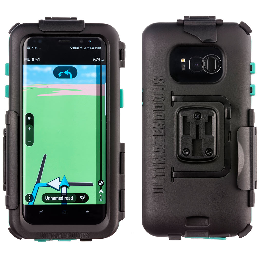 Hard IPX5 Waterproof Bike Case Samsung Galaxy S8 - Ultimateaddons