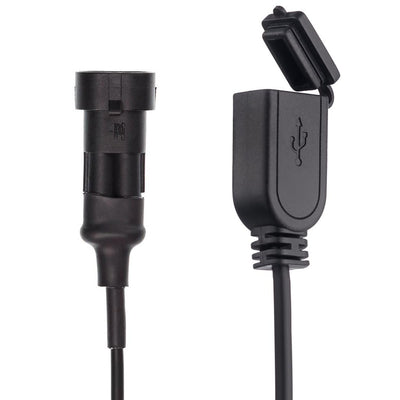 2 Amp Waterproof Motorcycle Scooter Hard Wire Charger - Ultimateaddons