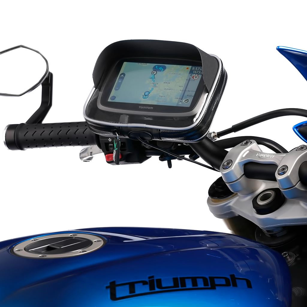 Water Resistant Univeral GPS Case Quick Release Handlebar