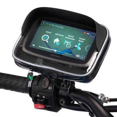 Ultimateaddons Water Resistant GPS Case with M10 Pitch Mirror Mount - Ultimateaddons