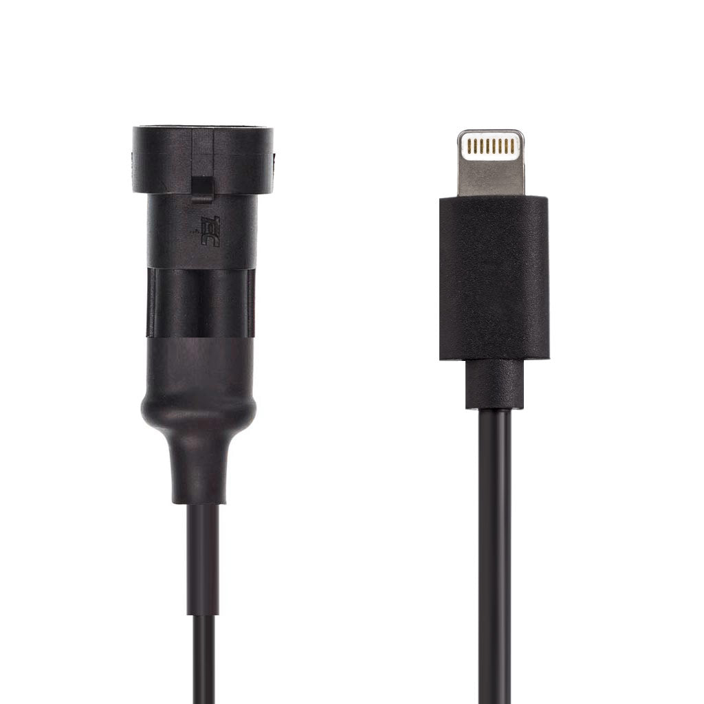 2 Pin Waterproof Charger Cables for Hardwire / Din Hella