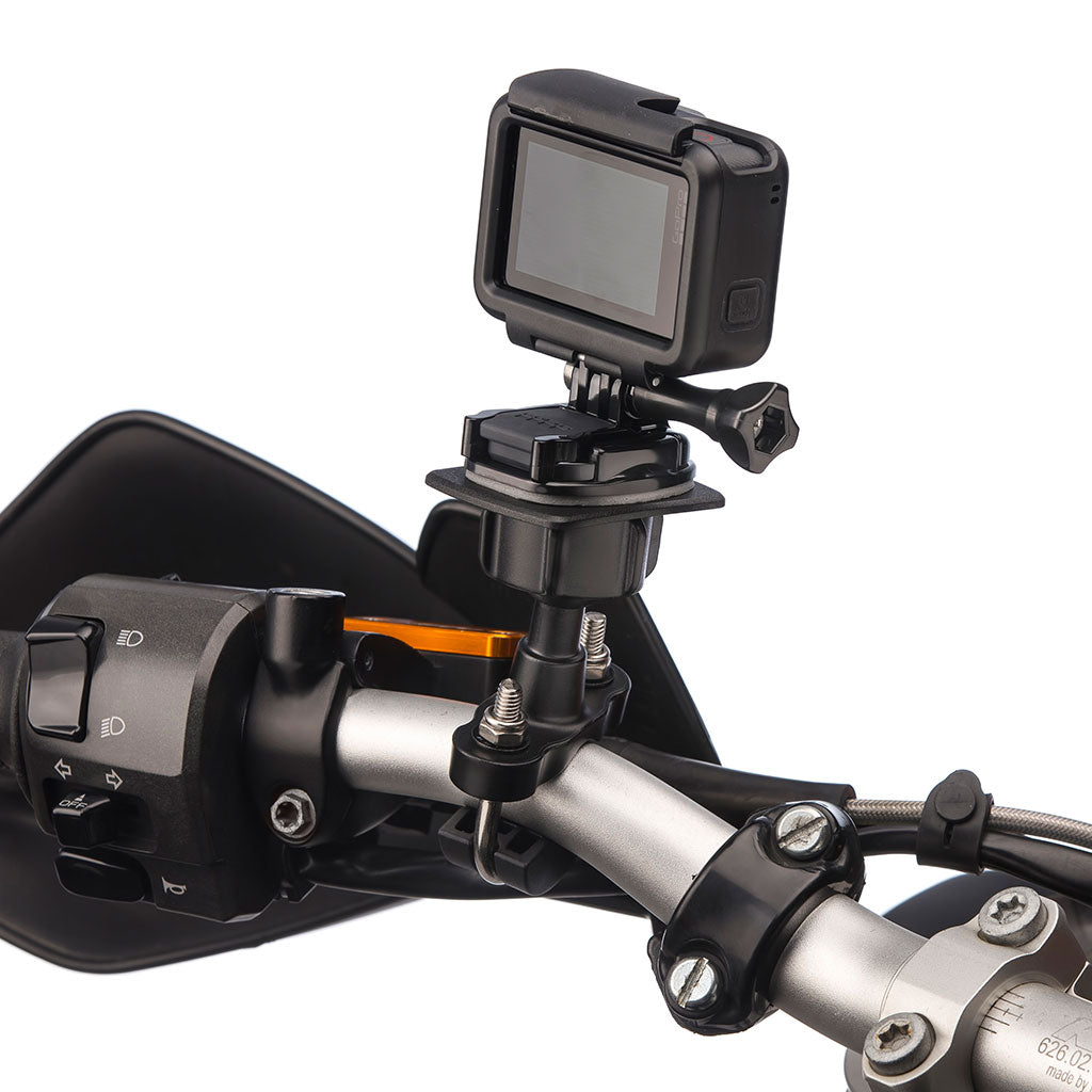 Strong Metal Handlebar Mount Kit for GoPro Hero Action Cameras