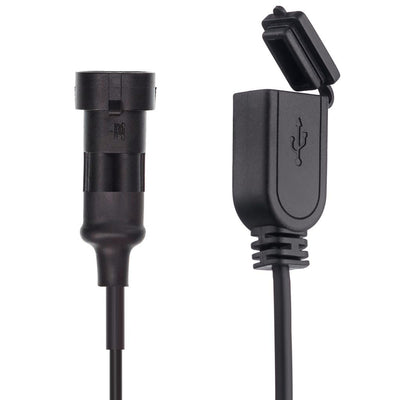 2 Pin Waterproof Charger Cables for Hardwire / Din Hella - Ultimateaddons