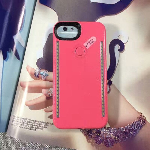 Marble LED Phone Case for iPhone 6 6S 7 7Plus