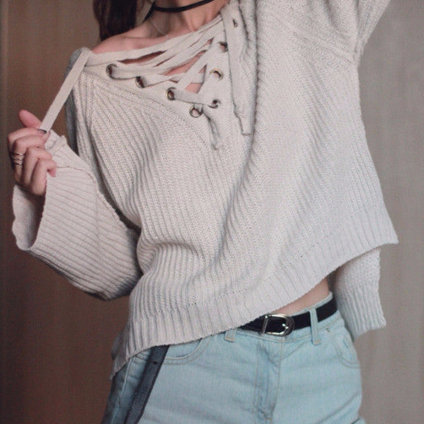 Pull Me In Knitted Top