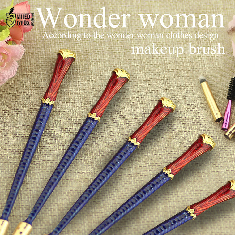 Wonder Woman Makeup Brushes