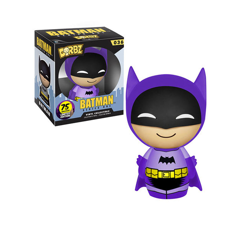 #036 Funko Dorbz - PURPLE  BATMAN - 75th Anniversary LIMITED Collection UK