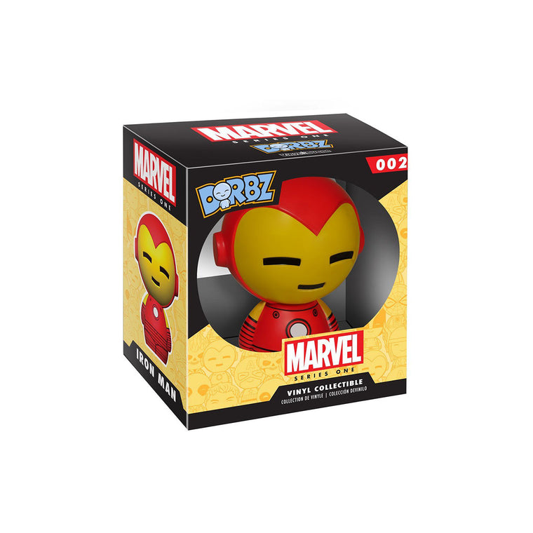 #02 Funko Dorbz - IRON MAN - Marvel Series 1 Figure ** RARE ** UK Stock