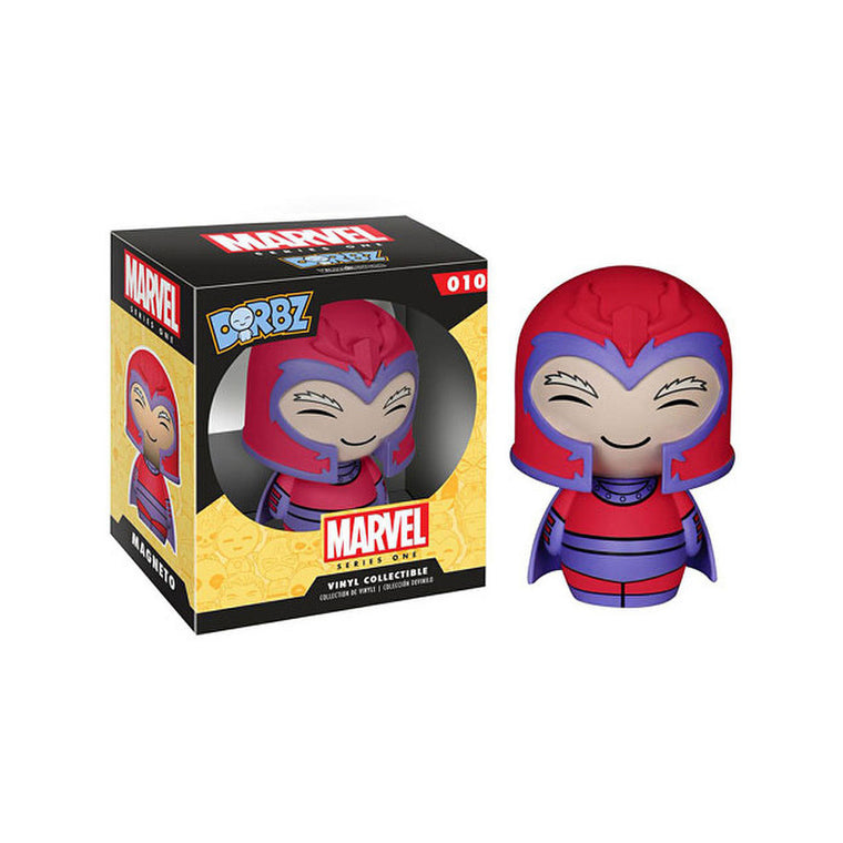 #010 Funko Dorbz - MAGNETO - Marvel Series 1 Figure ** RARE ** UK Stock