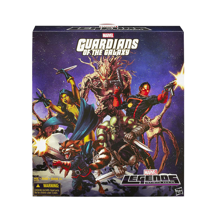 Guardians of the Galaxy - COMIC EDITION - Marvel Legends Figures Set ** RARE **