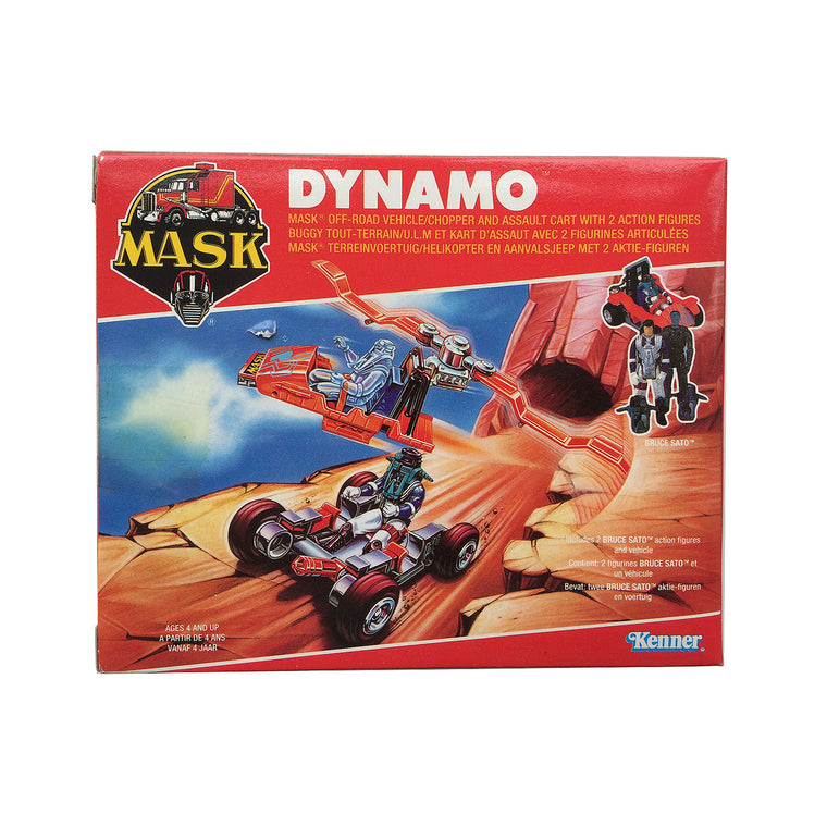 NEW & SEALED - M.A.S.K Dynamo (Kenner 1988)