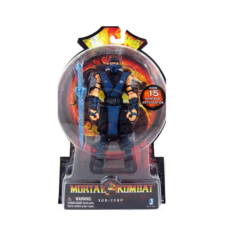 Mortal Kombat Sub Zero - 6 Inch Figure - JAZWARES - NEW SEALED MK9