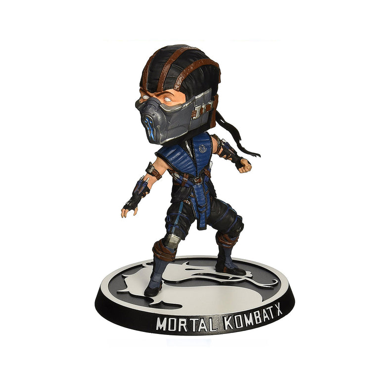 Mortal Kombat X - SUBZERO BOBBLE HEAD Figure by Mezco Toys 6