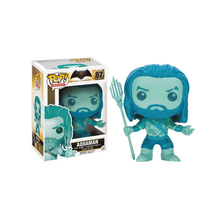 Funko Pop Heroes -#87 BLUE AQUAMAN Vinyl Figure Series (9cm/3.5