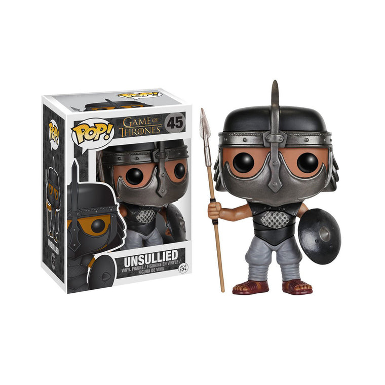 Funko Pop #45 UNSULLIED Figure ** GAME OF THRONES ** Vinyl Series (9cm/3.5