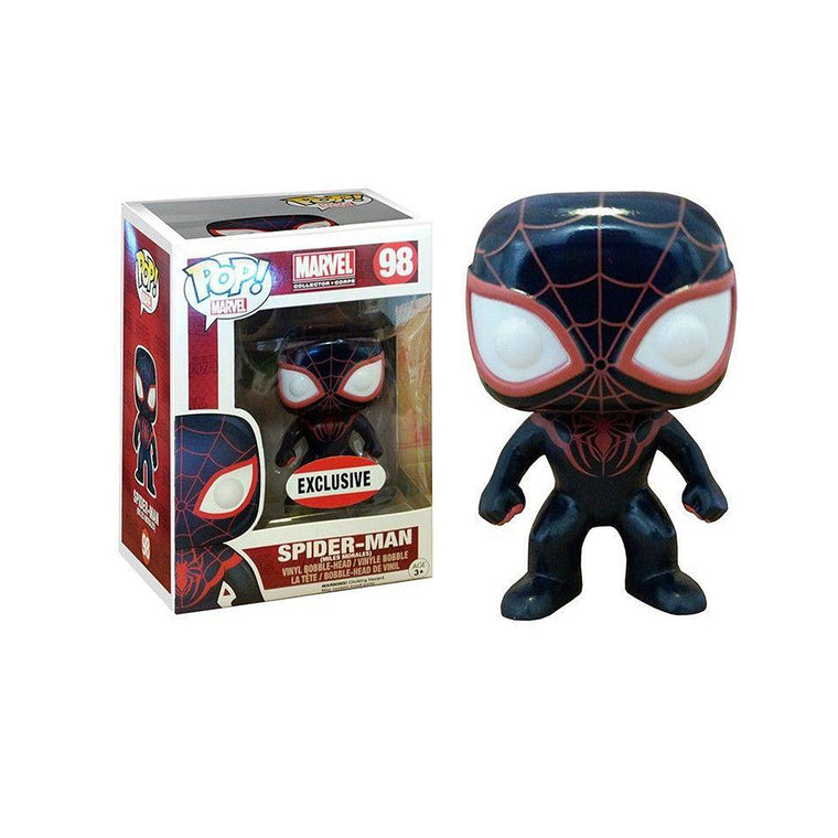 #98 Funko Pop - MILES MORALES - Spiderman Vinyl Figure ** RARE ** UK Stock