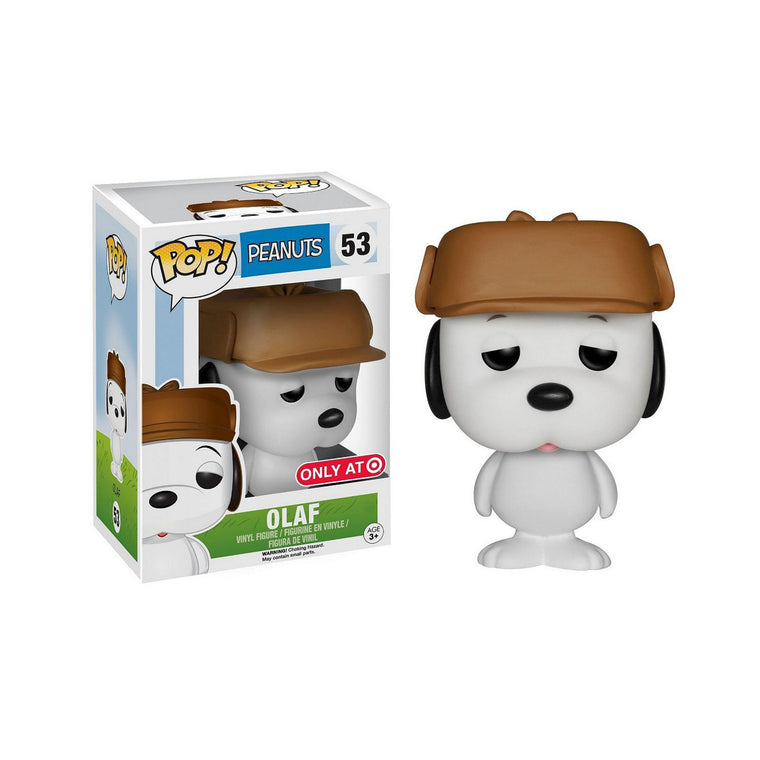 Funko Pop #53 OLAF Figure - PEANUTS Pop Vinyl Animation Series - LIMITED EDITION