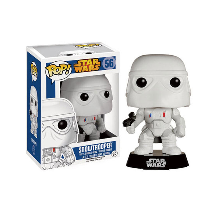 Funko Pop #56 SNOWTROOPER Figure ** STAR WARS ** Bobble Head Vinyl Series