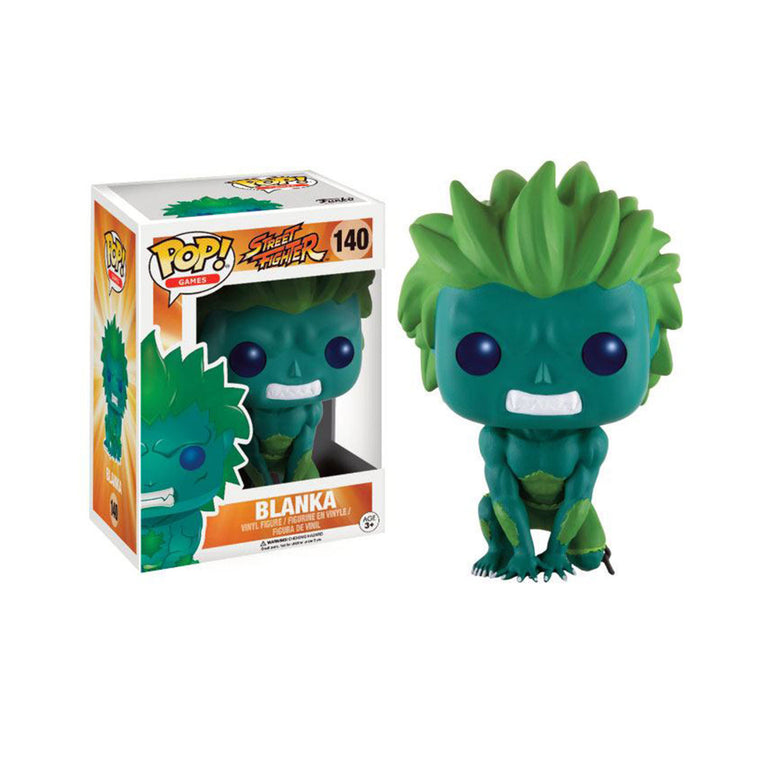 #140 Funko Pop Games BLANKA (GREEN) Street Fighter Vinyl Figure Series 9cm/3.5