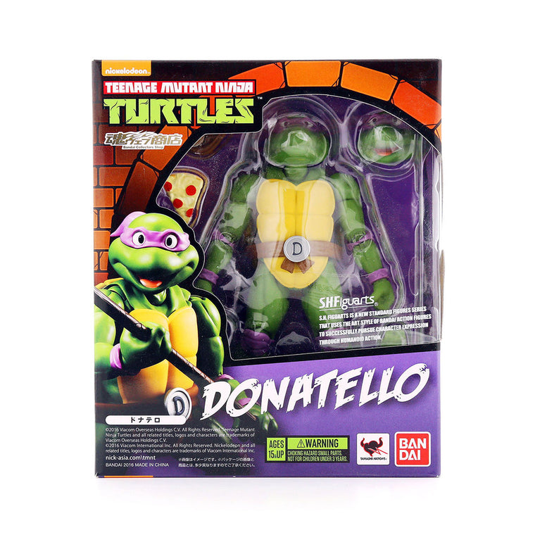 Teenage Mutant Ninja Turtles DONATELLO Figure by SH Figuarts - TMNT ** Rare **