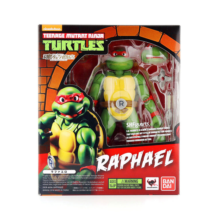Teenage Mutant Ninja Turtles RAPHAEL Figure by SH Figurarts - TMNT ** Rare **