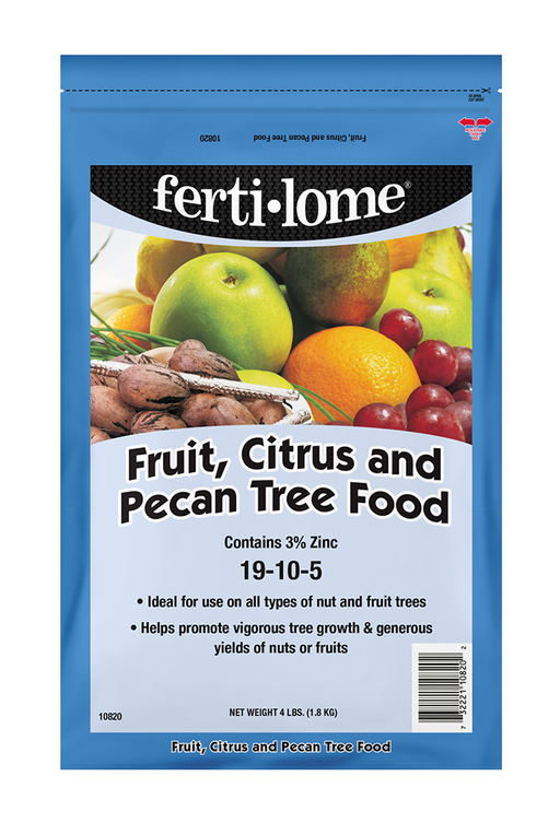 Fertilome Fruit Citurs and Pecan Tree Food 4lbs