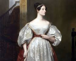 British painter Margaret Sarah Carpenter's Portrait of Ada Lovelace (1836), English