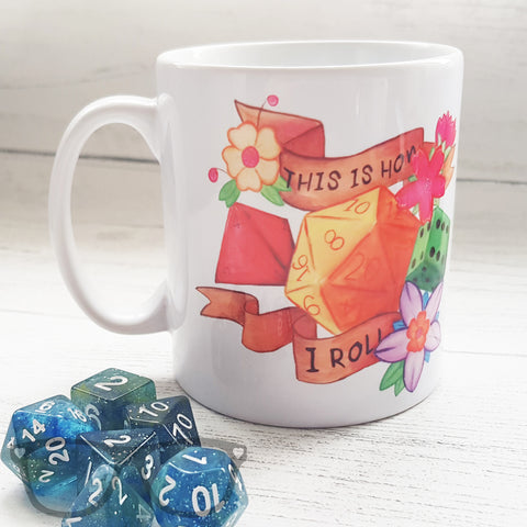 This is how I roll mug by Mini Geek Boutique