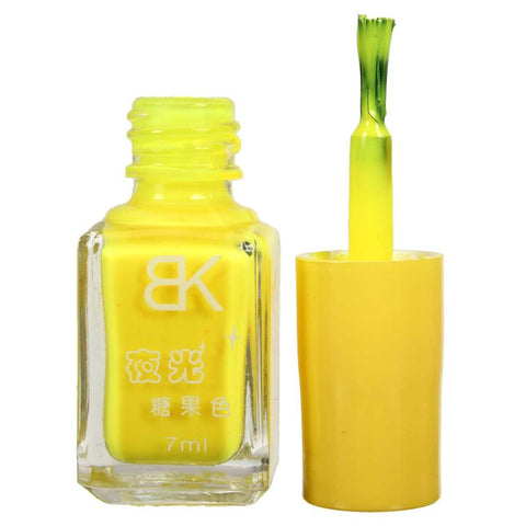 Yellow UV Nail Polish - 02