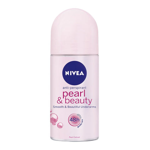 Pearl & Beauty- Nivea Deodorant Roll 48hr-Antiperspirant