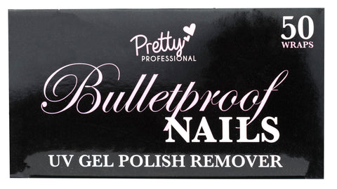 Pretty - Pro BP Gel Remover Wraps (50) in Printed Box