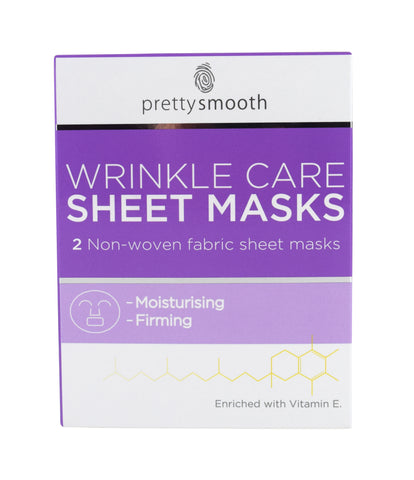 Pretty - Smooth Wrinkle Care sheet mask