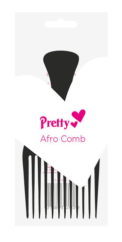 Pretty Afro Comb (Black)