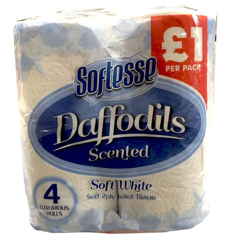Softesse Daffodils Scented Toilet Rolls - Soft White