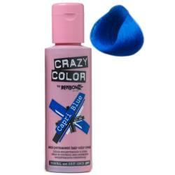 Crazy Color - Capri Blue Hair Dye 100ml - ColourYourEyes.com