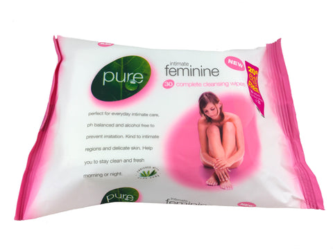 Pure Intimate Feminine Wipes