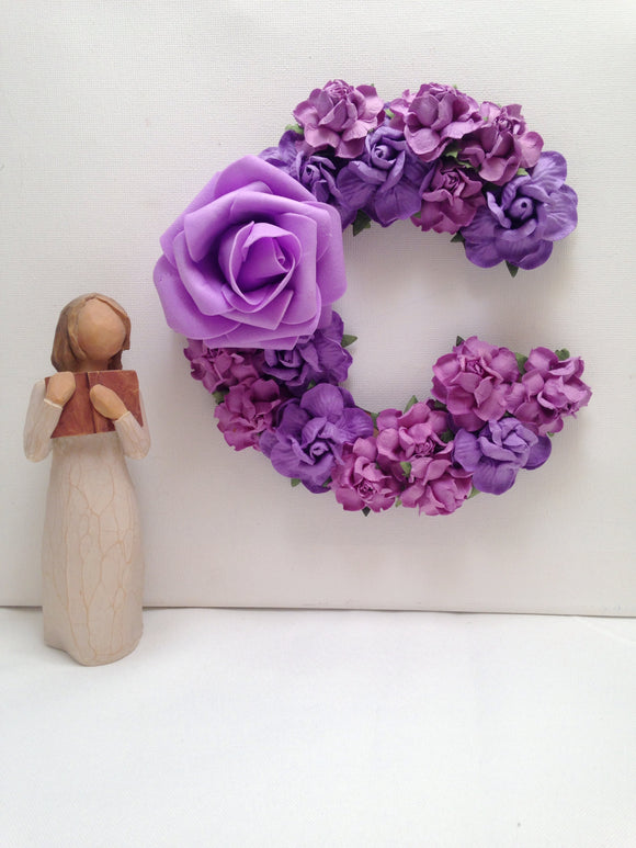15cm MDF wood - purple delight