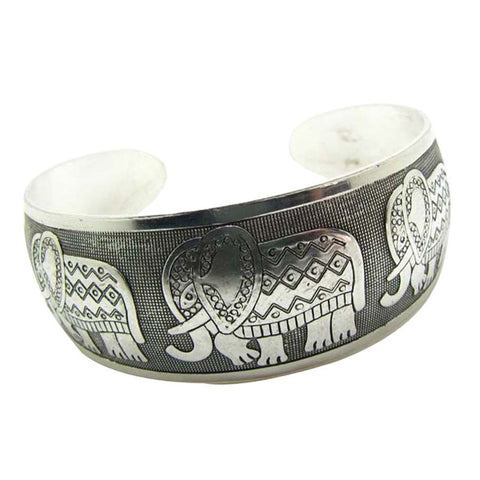 Bracelet ethnique tibétain argent Fashion mode Bohême coachella