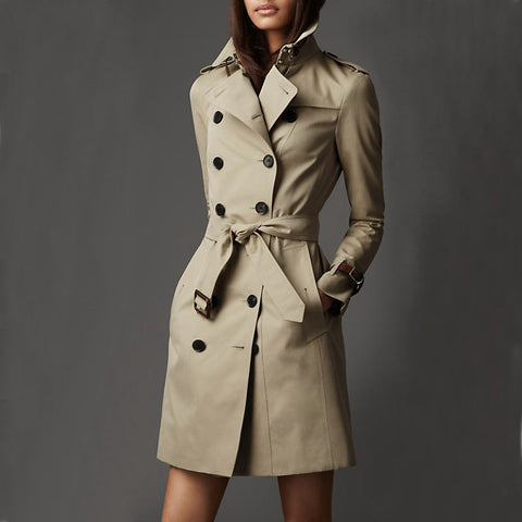 Manteau Trench-coat pardessus imperméable