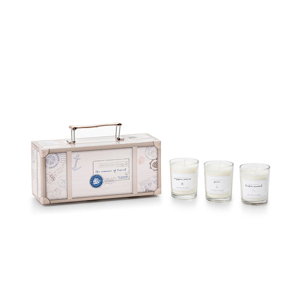 Romance of Travel Candle Set