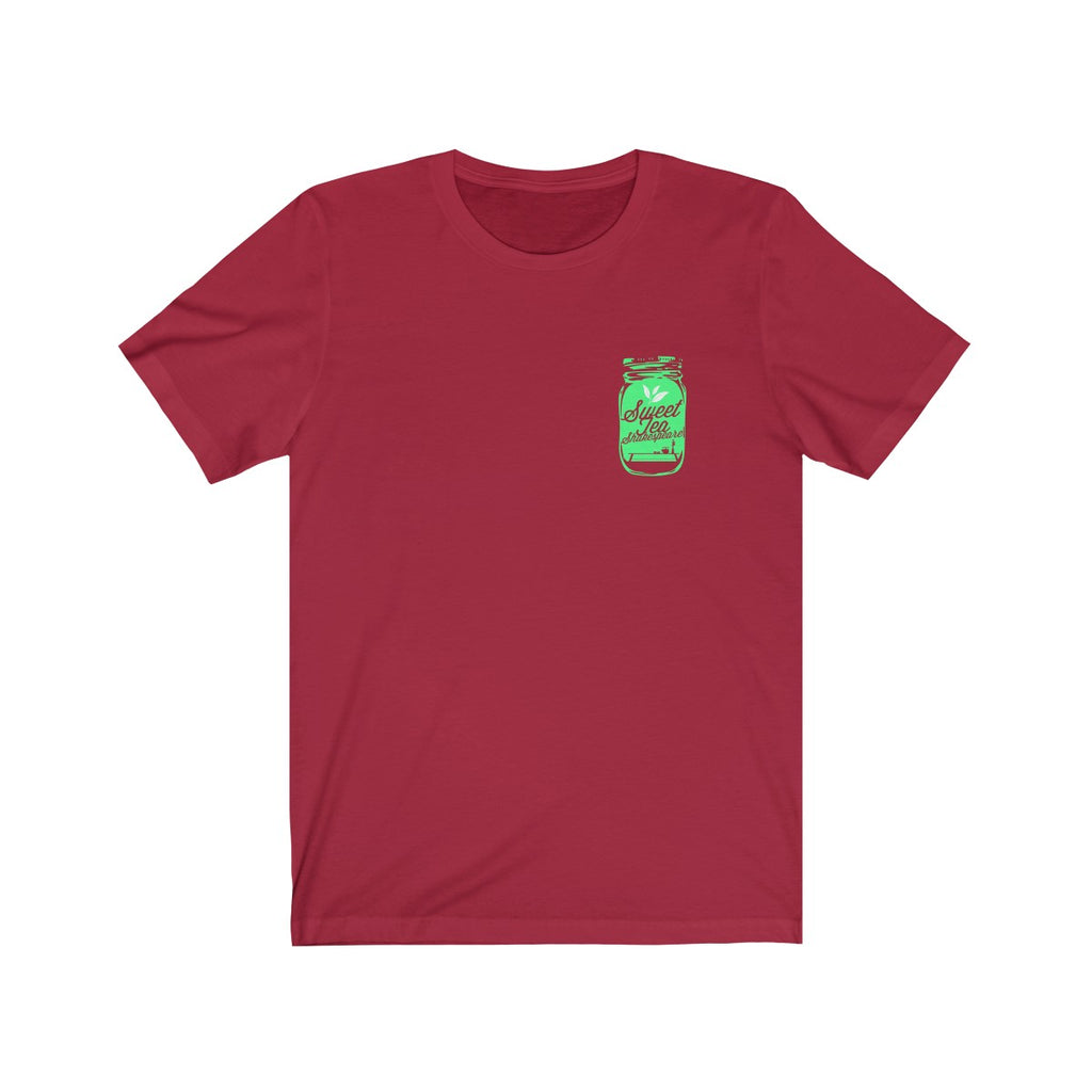 Green Tea is a clever name for a youth company! Jersey Short Sleeve Adult Tee