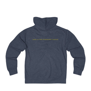 Shakespeare would in no way object to this French Terry Zip Hoodie