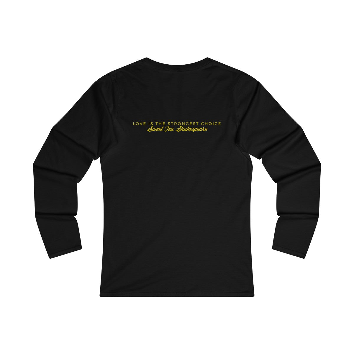 We're Not Math Majors Women's Fitted Long Sleeve Tee