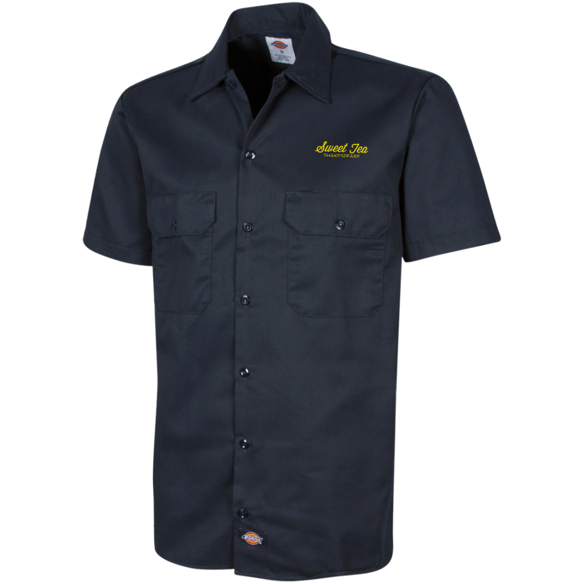 Will's Complete Dickies Men's Short Sleeve Workshirt