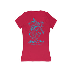 Women's HeartBack  Deep V-Neck Tee