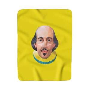 Himalayan Shakespeare Sherpa Fleece Blanket