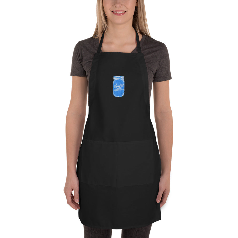 The Loin Protector Embroidered Apron